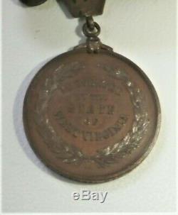 Civil War West Virginia Honorable Discharge medal named