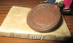 Civil War West Virginia Medal to 10th Inf. Died at Andersonville Prison