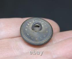 Civil War button Confederate Staff Officer HT&B Manchester CSA Very Nice