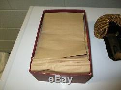 Civil War era vintage shoulder epaulets, Navy, Lt Commander, original box