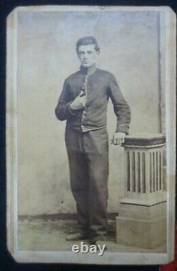 Civil War uniform jacket Henry Archer 26th Ohio Light Artillery Battery, more