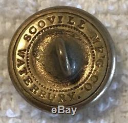 Confederate Civil War Maryland Baltimore City Guard Vest Button MD17 Av