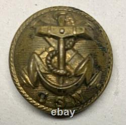 Confederate Navy Vest Size Civil War Button