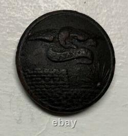 Corps Of Engineers Civil War Coat Button