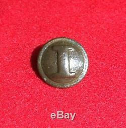 Dug Confederate Cast Infantry Civil War Button Relic CS Camp Dinwiddie Virginia