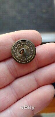 Dug South Carolina Civil War Coat Button