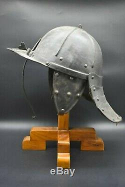 English Civil War Lobster Helmet C. 17th Century AD