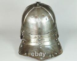 English / German Zischägge or Lobster Tail English Civil War Helmet C1650