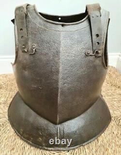 Fantastic 17th Century English Civil War Cavalry Cuirassier Breastplate Cuirass