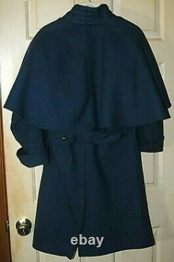 Federal CIVIL War Cavalry Great Coat With Cape