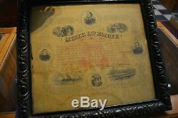 General Joshua Chamberlain Signed Maine Civil War Testimonial Original
