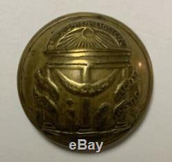 Georgia Civil War Coat Button
