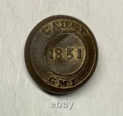 Georgia Military Institute Civil War Cuff Button