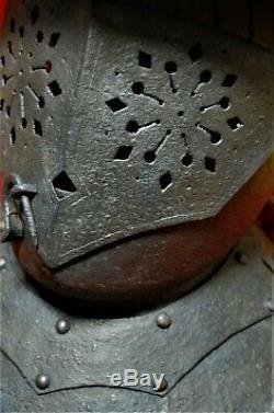 German or English Civil War era close burgonet savoyard helmet c. 1650