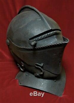 German or English Civil War era close helmet c. 1650