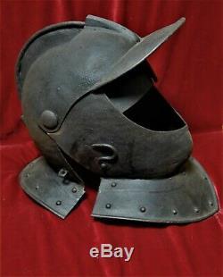 German or English Civil War era close helmet c. 1650 2