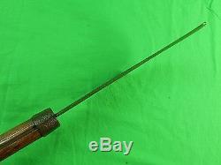 HUGE Antique US Civil War Period Hooked Cleaver bill hook hatchet Butchers Knife