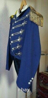Indian War Period, Possibly Civil War, Militia Tailcoat, Silver Staff Buttons