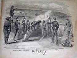 June 1861 May 1862 Harper's Weekly bound 10 months Civil War illustrated