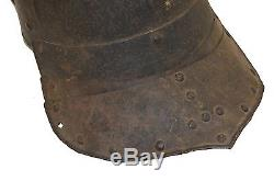 Lobster Tail Hungary Zischagge English Civil War Helmet, 1630