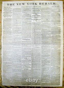 Lot of 25 original 1861-1865 Civil War newspapers All are from Eastern US states