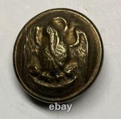 Louisiana Local Confederate Civil War Coat Button