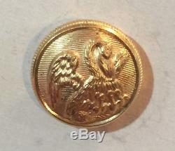 Louisiana civil war unlisted vest size button