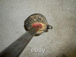 M1850 Civil War Officers Sword, As Found