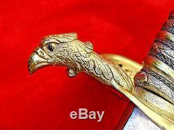 Magnificent American CIVIL War Sword Identified Presentation Grade Jeweled M1850