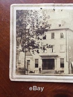 Marshall House Civil War Alexandria Va Virginia Elmer