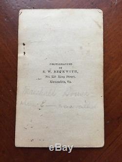 Marshall House Civil War Alexandria Va Virginia Elmer Ellsworth Cdv