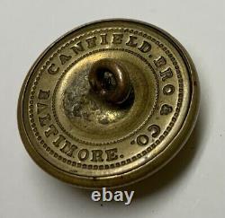 Maryland Military Institute Civil War Coat Button