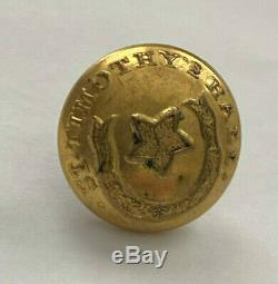 Maryland St. Timothys Hall School Civil War Cuff Button SCOVILLS & Co JSH
