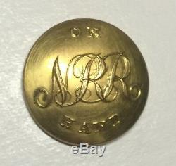 Massachusetts National Rifle Rangers Of Boston Pre Civil War Coat Button