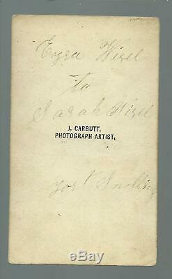 Minnesota CDV 1862 CIVIL WAR Interior FORT SNELLING Soldiers AUTOGRAPHED Roll
