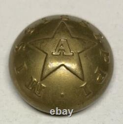 Mississippi Artillery Civil War Coat Button