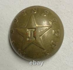Mississippi Infantry Civil War Coat Button