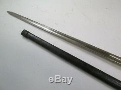 Model 1840 Us CIVIL War Nco Sword Wi Scabbard Dated 186 Ames Marked Minty Blade