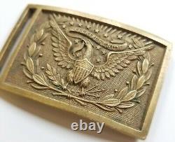 Model 1851 CIVIL War Relic U. S. Officer Belt Buckle Non-dug Original