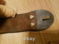 Nice Civil War US Regulation Belt Buckle and Leather Belt NIce Original Piece