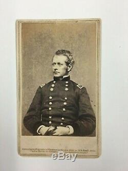 Nice General Joseph Hooker CDV Civil War Chancellorsville Brady Anthony Backmark