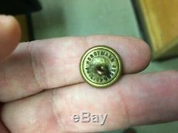 Nice Set 5 Union Civil War Buttons Dragoon Cavalry Rifleman Artillery Infantry