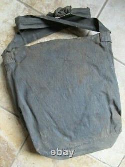 Nice, Very Rare Original Civil War Enlisted Man's Military Tarred Haversack