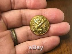 Non Dug Union Civil War Ordnance Corps Coat Button