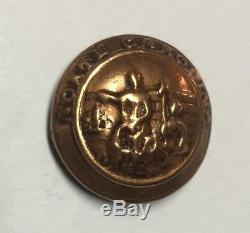 North Carolina Local Backmarked Civil War Coat Button