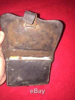 ORIGINAL CIVIL WAR. 44 Cal. PISTOL CARTRIDGE BOX