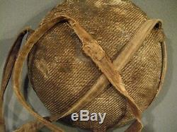 ORIGINAL CIVIL WAR CANTEEN WITH COVER AND SHOULDER SLING, Circa 1860-65