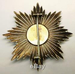 Order of Queen Tamar awarded during Russian Civil War GUARANTEED 100% ORIGINAL