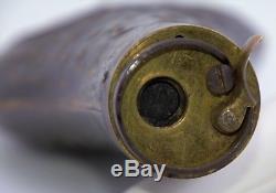 Original 1851-1861 Colt Powder Flask Army Navy Percussion Revolver Civil War Era