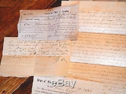 Original CIVIL WAR CONFEDERATE PLANTATION LOT! Slaves, CSA, Baggott family